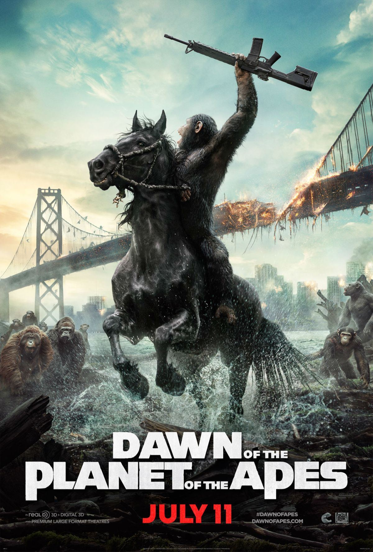Dawn of the Planet of the Apes (2014, dir. MattReeves)