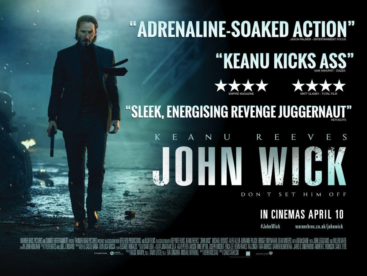 John Wick (2014, dir. Chad Stahelski & DavidLeitch)