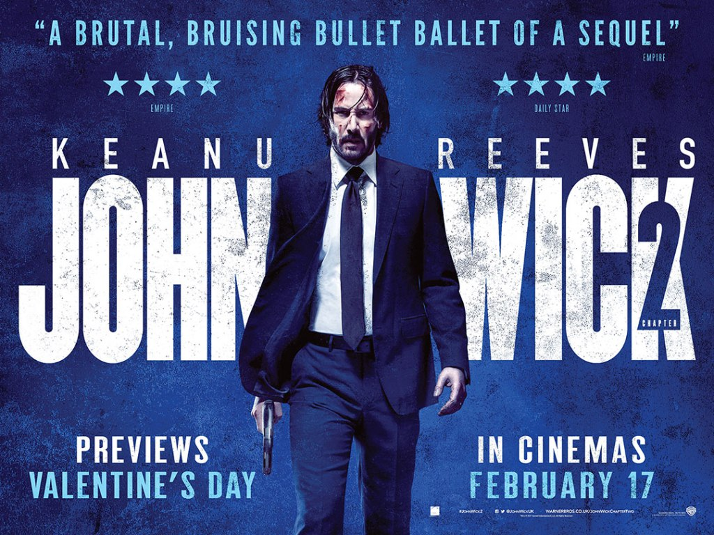 John Wick: Chapter 2 (2017, dir. ChadStahelski)