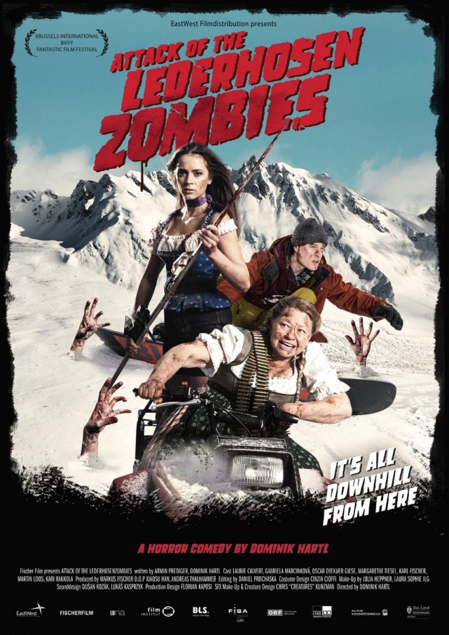 Attack of the Lederhosen Zombies (2016, dir. Dominik Hartl)