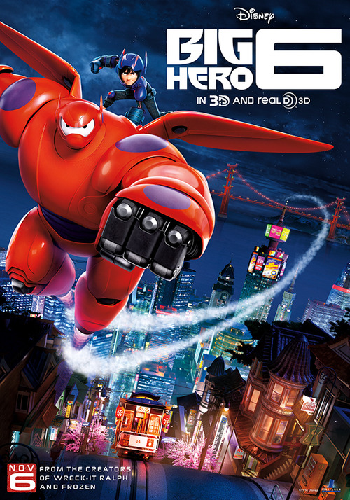 Big Hero 6 (2014, dir. Don Hall & ChrisWilliams)