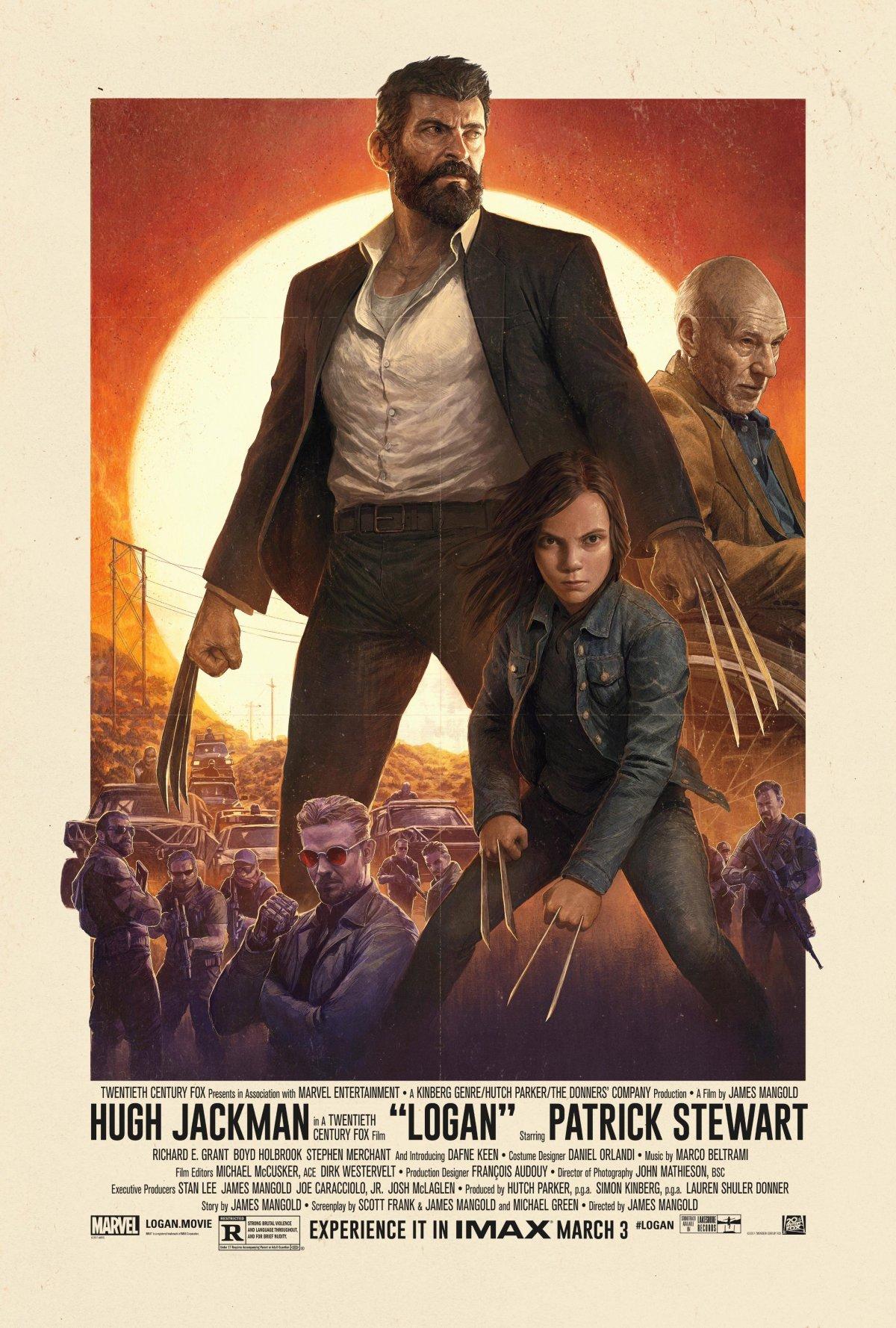 Logan (2017, dir. JamesMangold)
