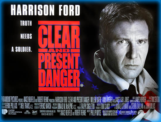 Clear and Present Danger (1994, dir. Phillip Noyce)
