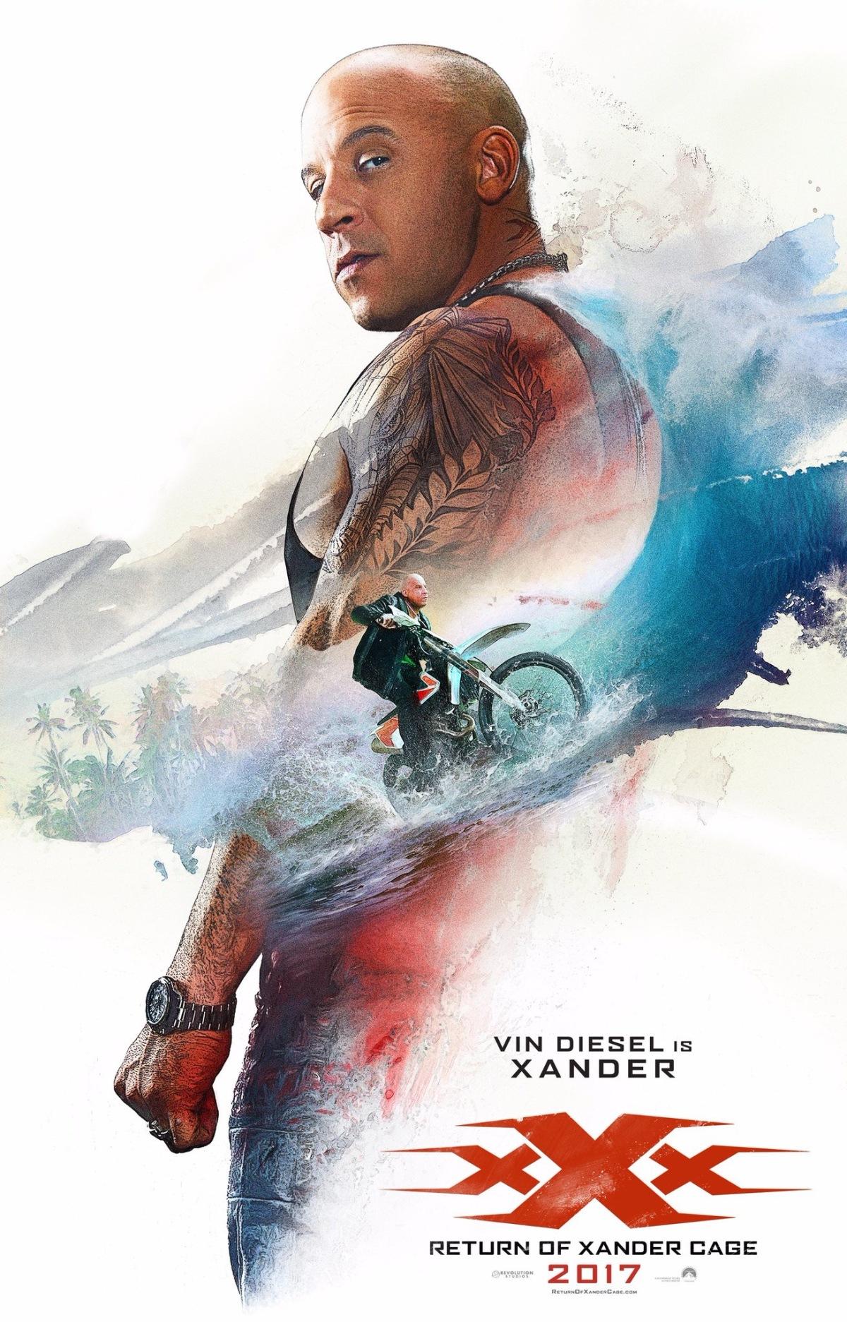 XXX: Return of Xander Cage (2016, Dir.D.J.Caruso)