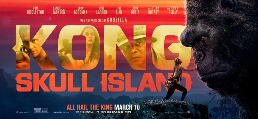 Kong: Skull Island (2017, dir. JordanVogt-Roberts)