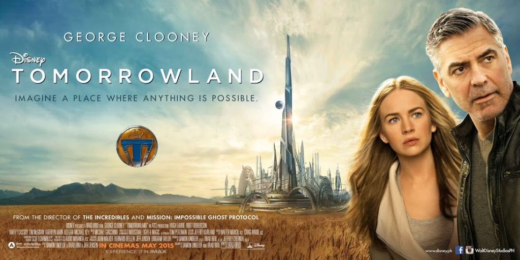 Tomorrowland: A World Beyond (2015, Dir. Brad Bird)