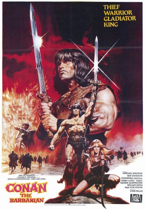 Conan The Barbarian (1982, dir, John Milius)