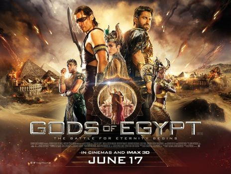 Gods of Egypt (2016, dir. Alex Proyas)