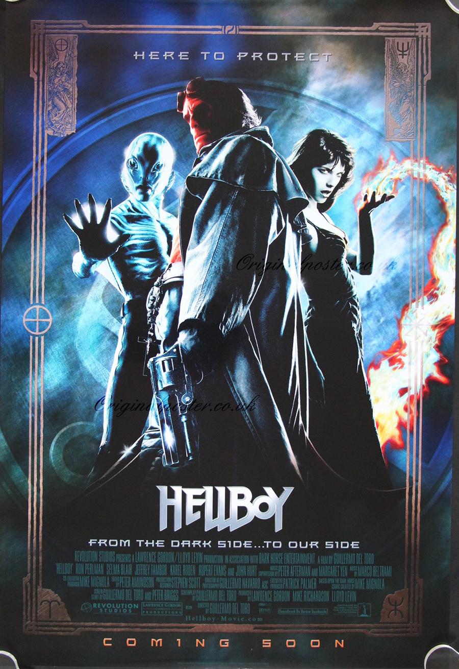 Hellboy (2004, dir, Guillermo delToro)