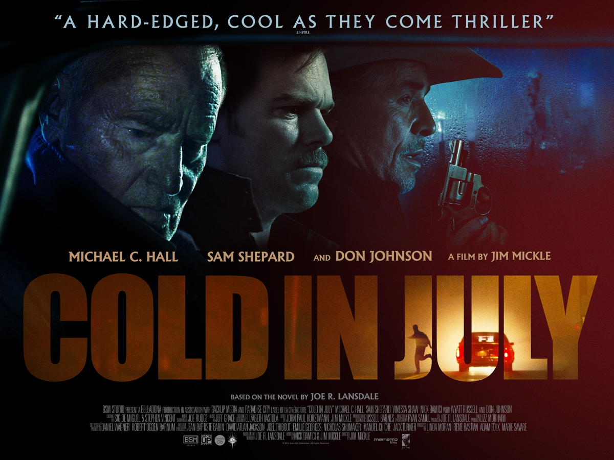 Cold In July (2014, dir. Jim Mickle)
