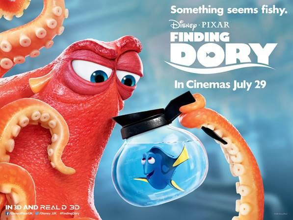 Finding Dory (2016, dir. Andrew Stanton & AngusMacLane)