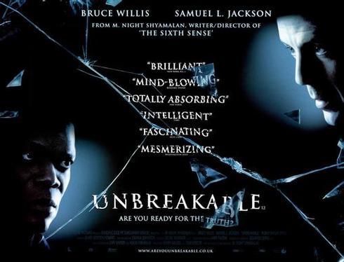Unbreakable (2000, dir. M. NightShyamalan)