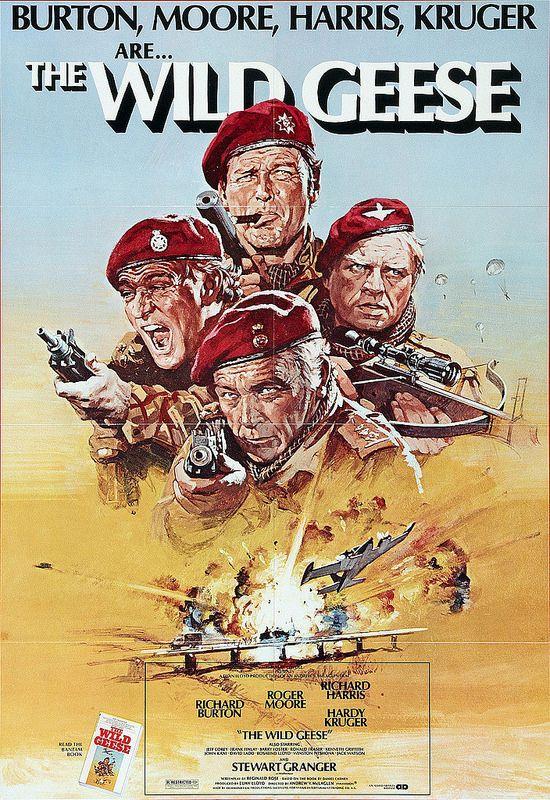 The Wild Geese (1978, dir. Andrew VMcLaglen)