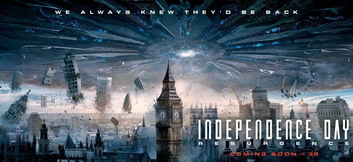 Independence Day: Resurgence (2016, dir. RolandEmmerich)