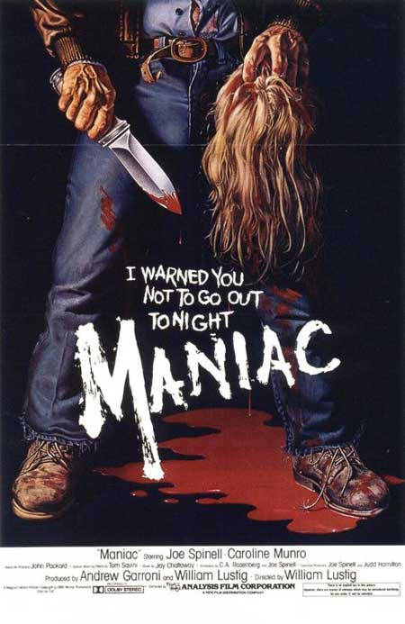 Maniac (1980, dir. William Lustig)