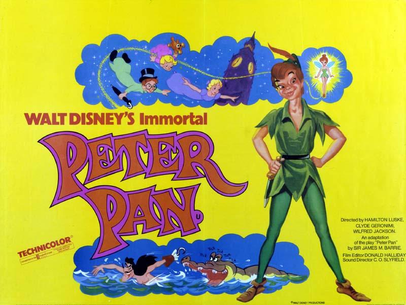 Peter Pan (1953, dir. Clyde Geronimo, Wilfred Jackson, Hamilton Luske & JackKinney)