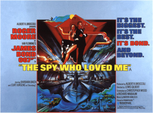 The Spy Who Loved Me (1977, dir. Lewis Gilbert)