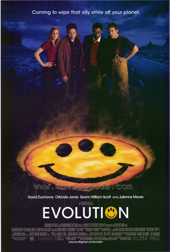 Evolution (2001, dir. Ivan Reitman)