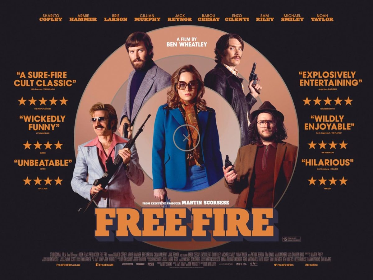 Free Fire (2016, dir. Ben Wheatley)