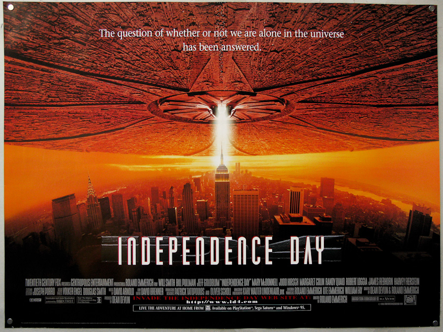 Independence Day (1996, dir. Roland Emmerich)