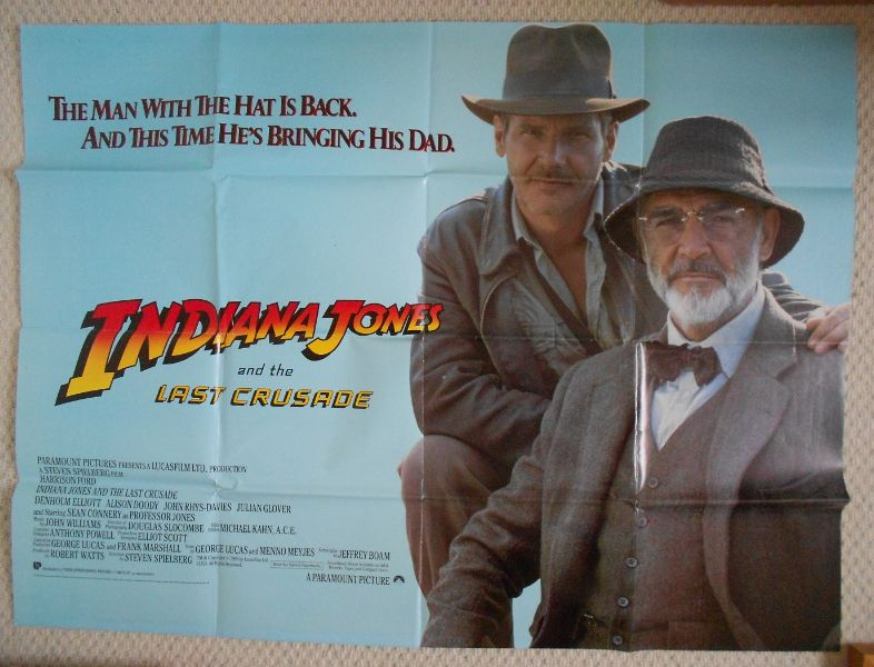 Indiana Jones and The Last Crusade (1989, dir. Steven Spielberg)