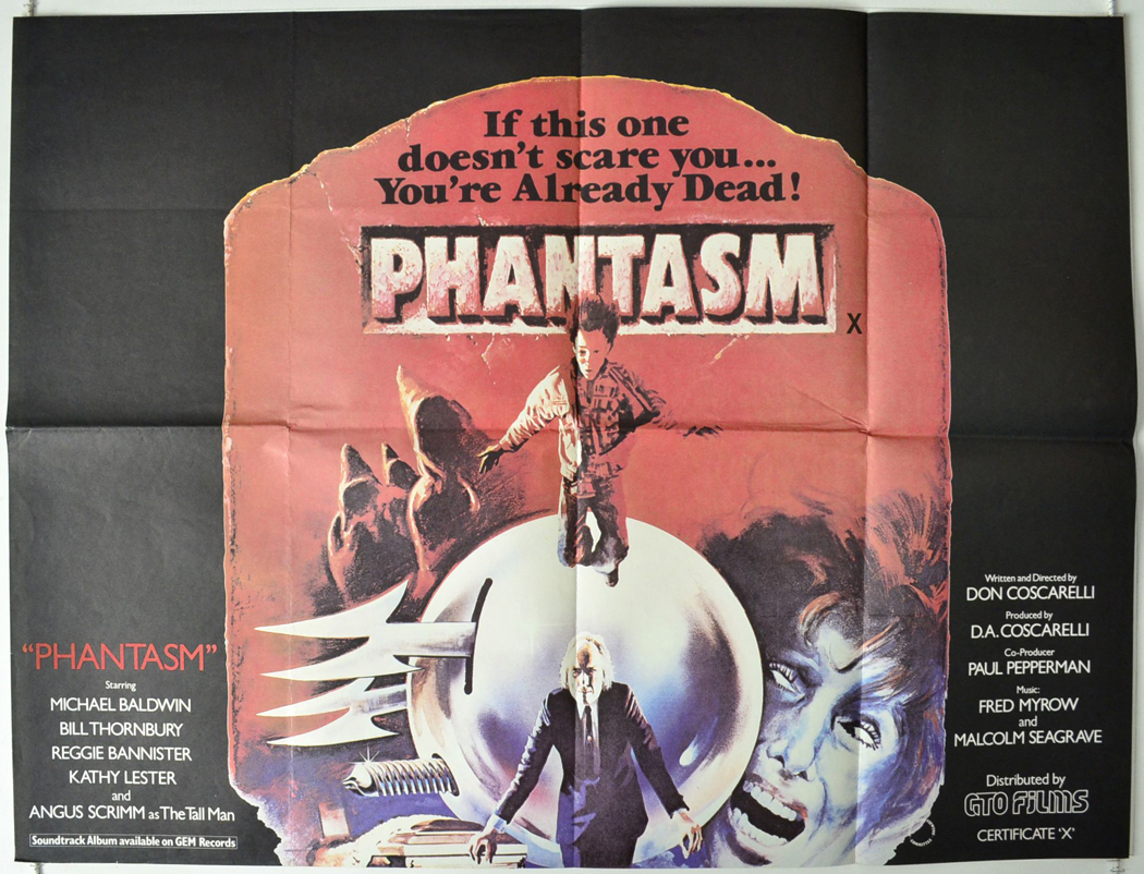 Phantasm (1979, dir. Don Coscarelli)