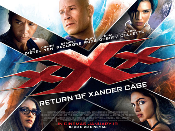 XXX: Return of Xander Cage (2016, dir. DJ Caruso)