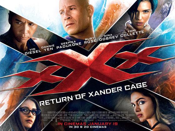 XXX: Return of Xander Cage (2016, dir. DJCaruso)