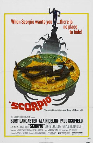 Scorpio (1973, dir. Michael Winner)