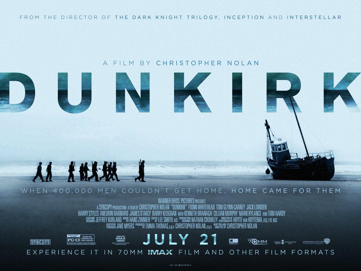 Dunkirk (2017, dir. ChristopherNolan)