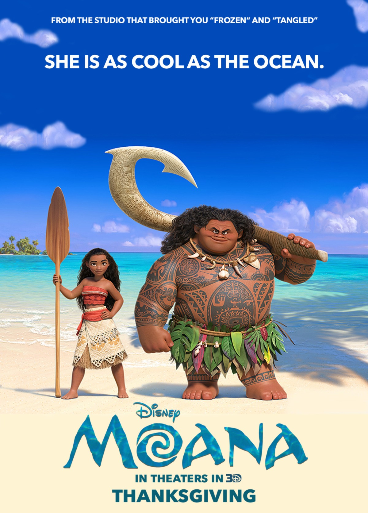Moana (2016, dir. Ron Clements, John Musker, Don Hall, Chris Williams)
