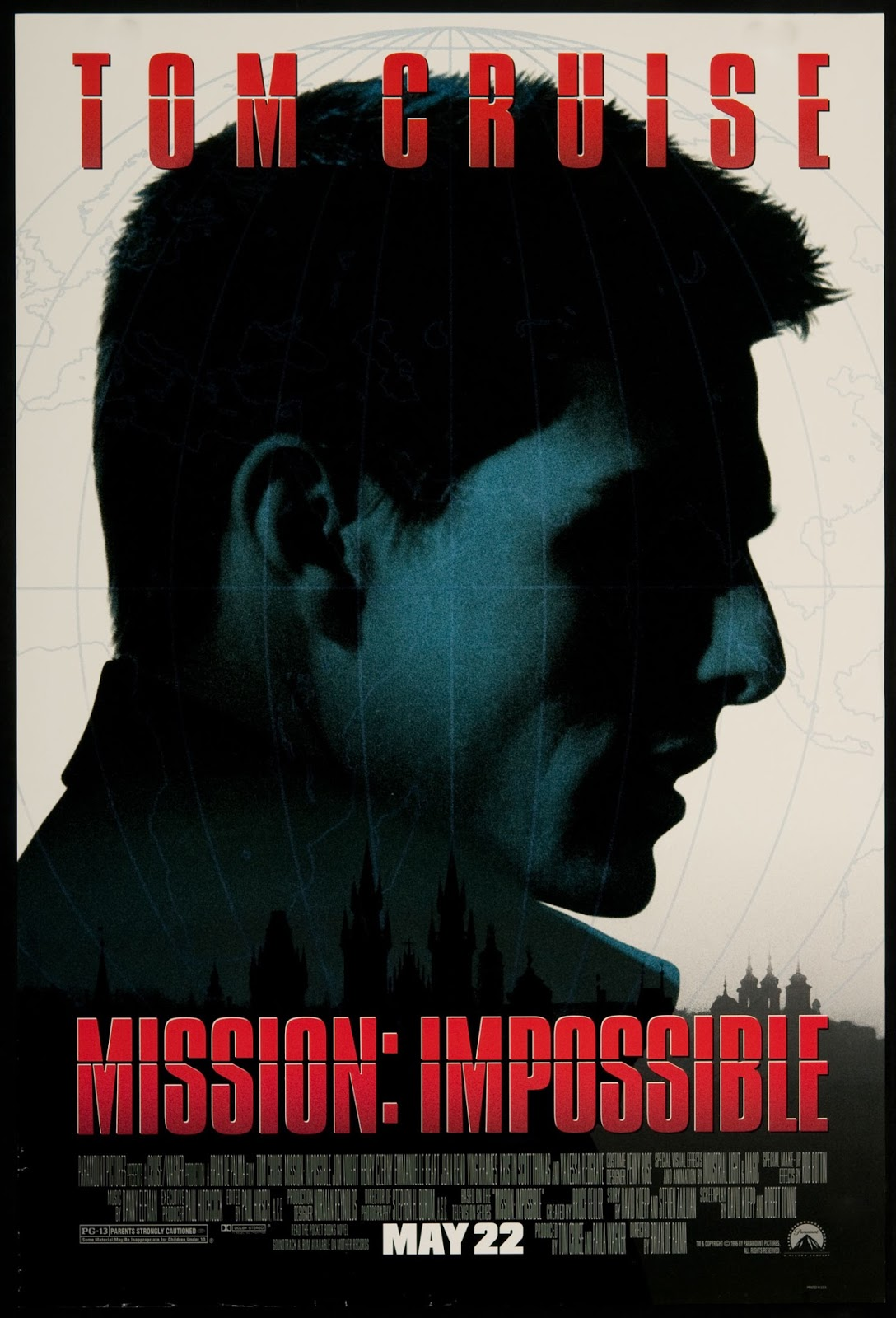 Mission Impossible (1996, dir. Brian DePalma)