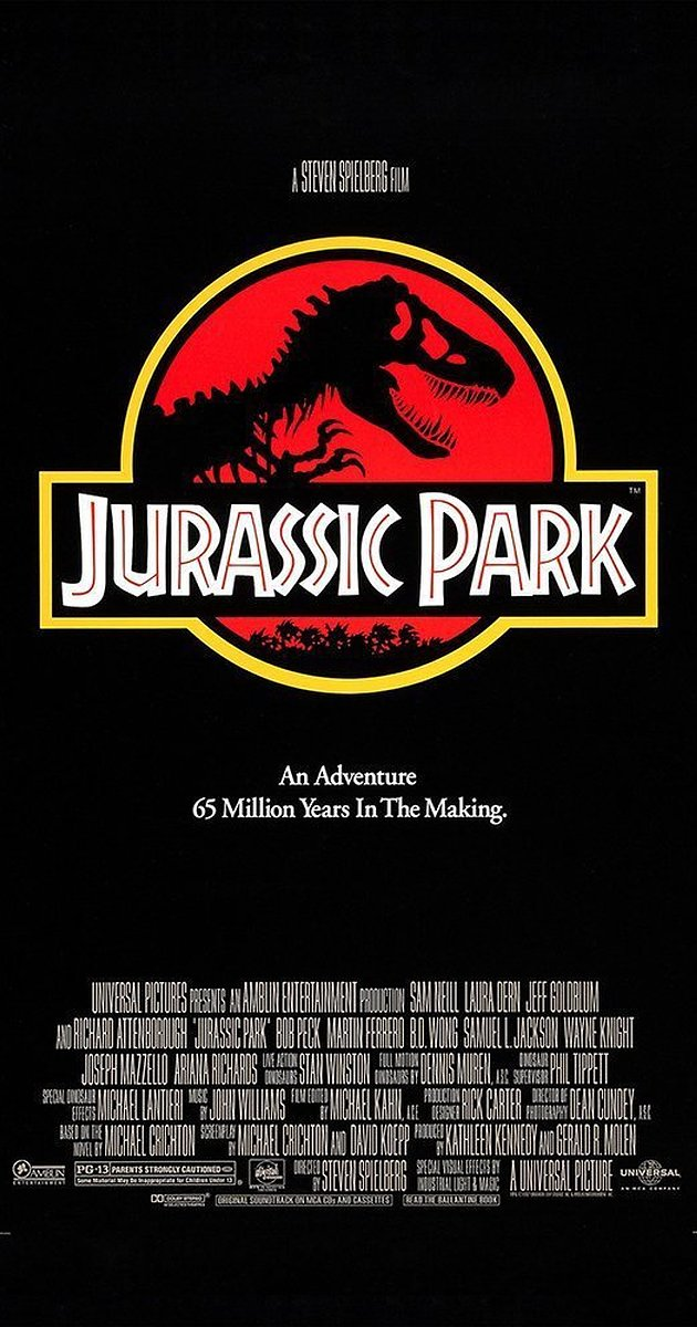 Jurassic Park (1993, dir. StevenSpielberg)