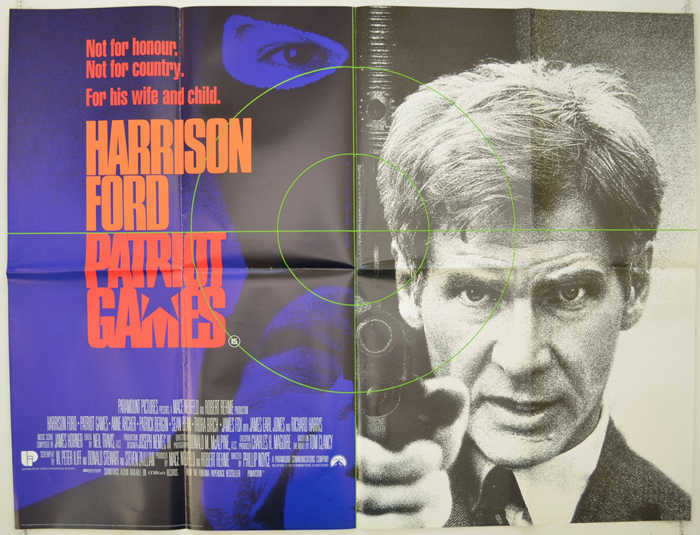 Patriot Games 1992 Dir Phillip Noyce 255 Review