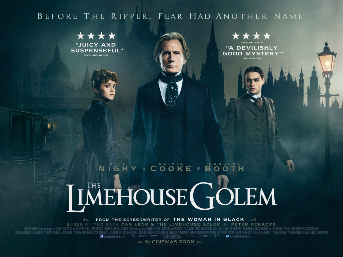 The Limehouse Golem (2017, dir. Juan CarlosMedina)