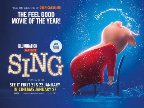 Sing (2016, dir. GarthJennings)