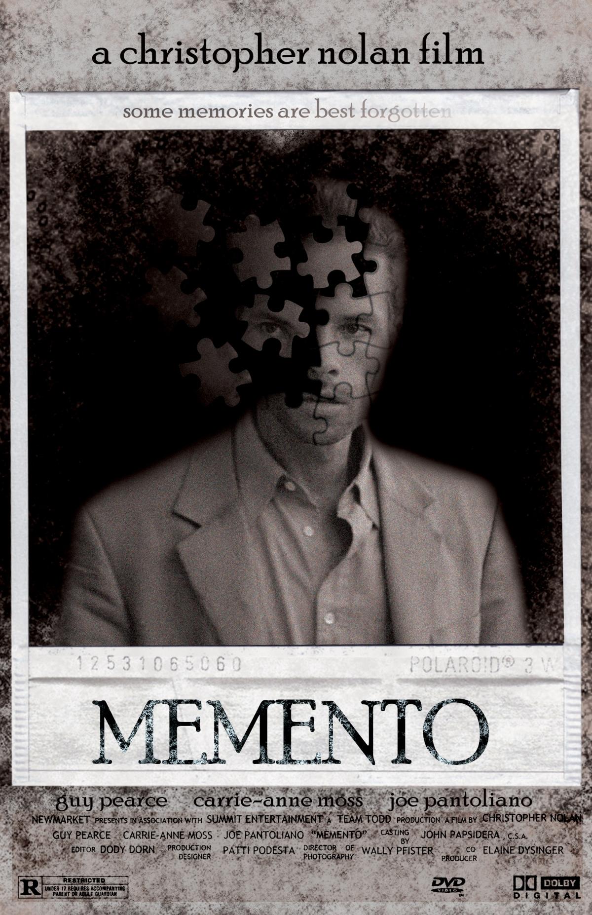 Memento (2000, dir. ChristopherNolan)