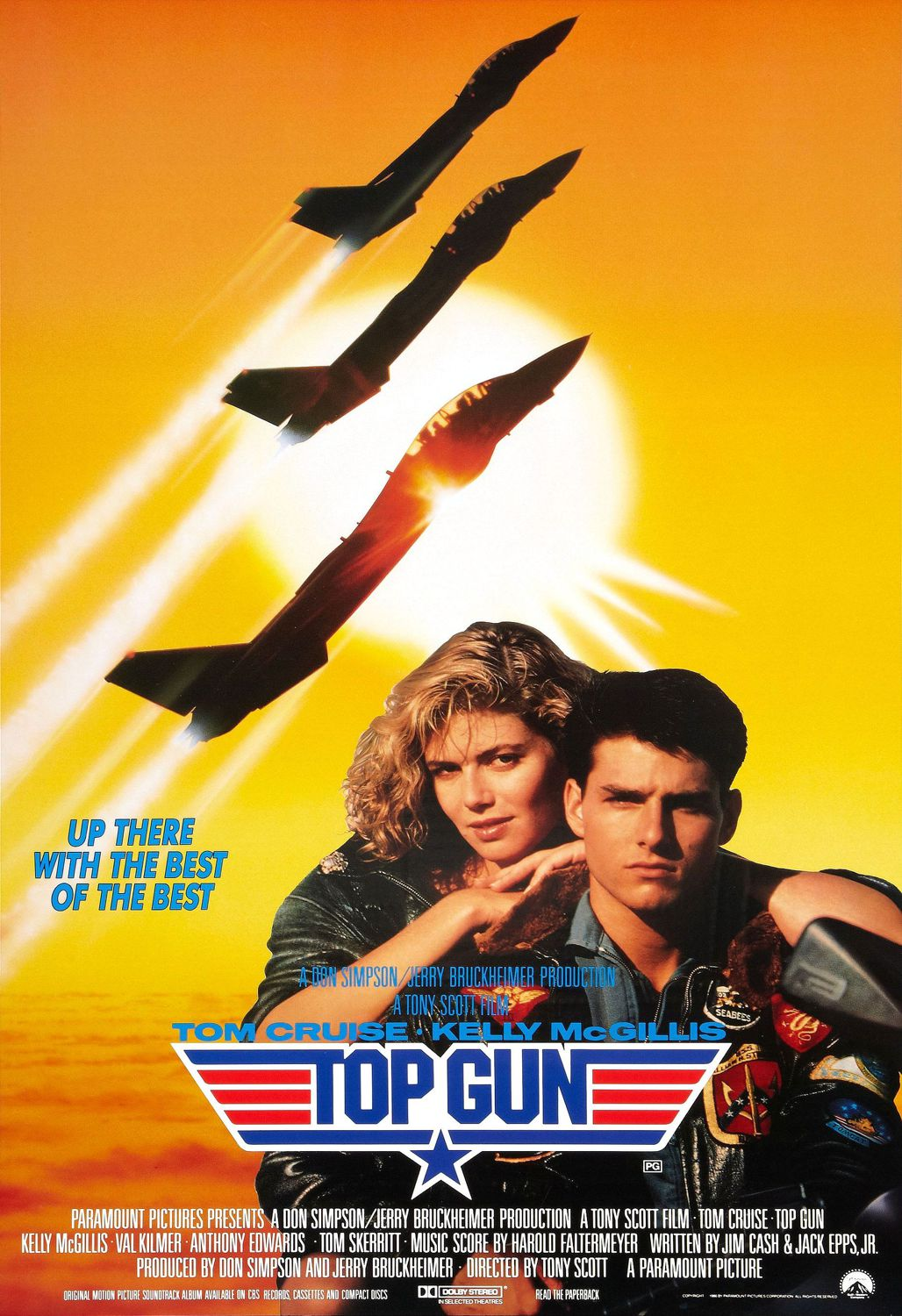 TopGun (1986, Dir. Tony Scott)