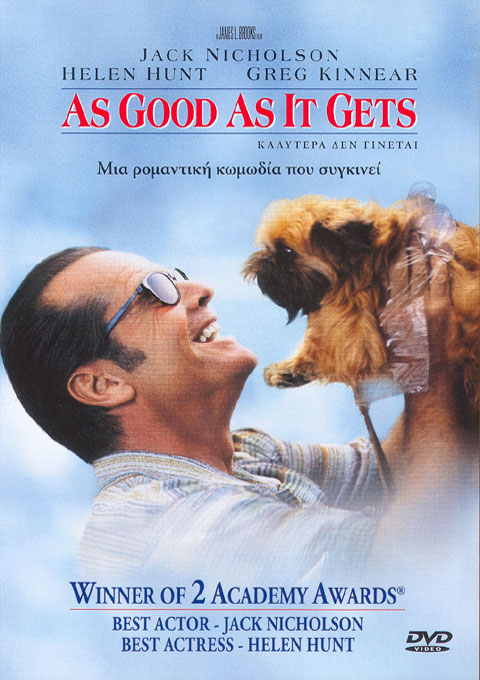 As Good As It Gets (1997, dir. James L Brooks)