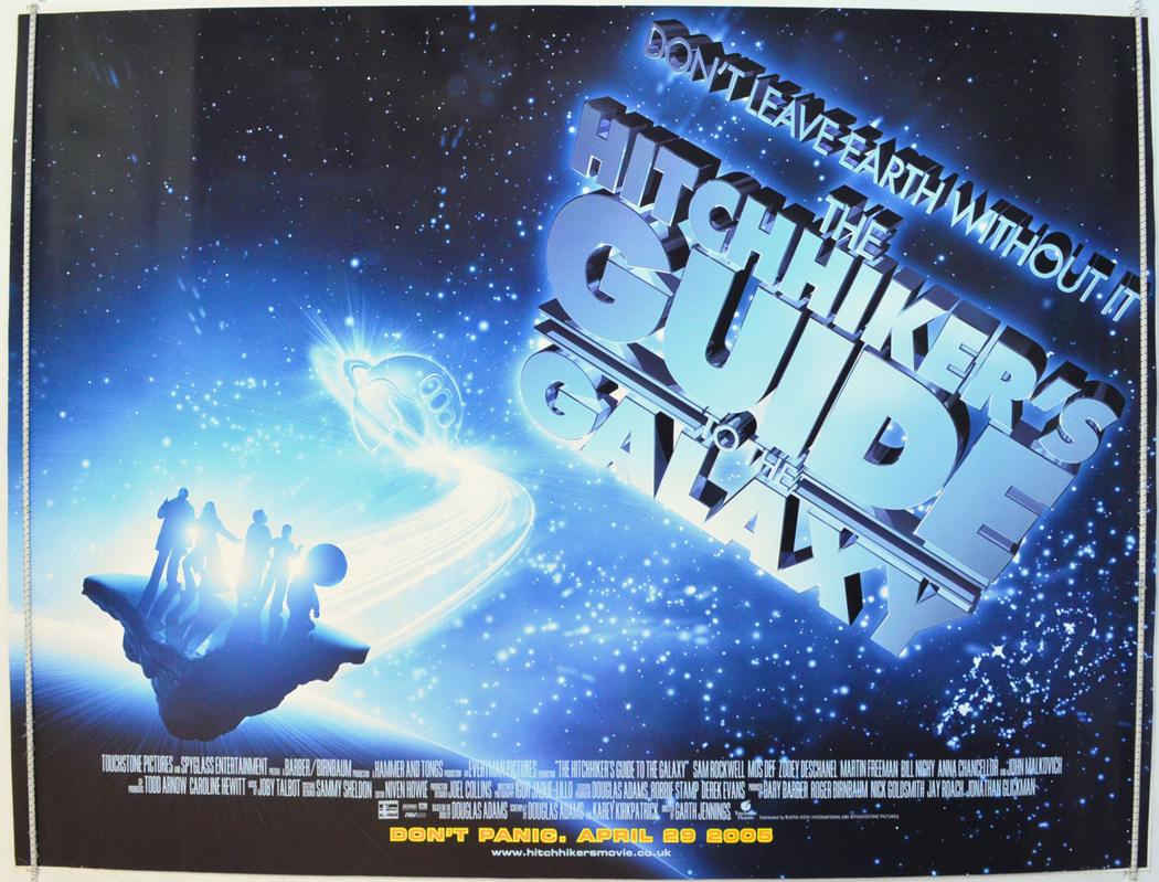 The Hitchhiker's Guide To The Galaxy (2005, dir. GarthJennings)