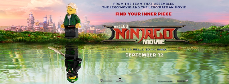 The Lego Ninjago Movie (2017, dirs: Charlie Bean, Bob Logan, Paul Fisher)