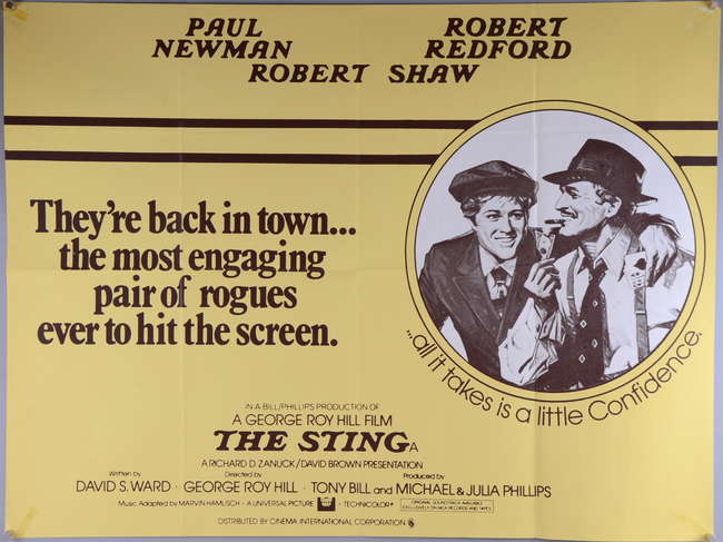 The Sting (1973, dir. George Roy Hill)