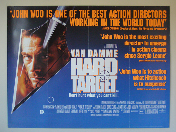 Hard Target (1993, dir. JohnWoo)