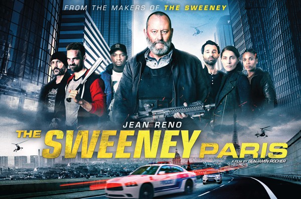 The Sweeney: Paris [AKA The Squad; Anti-gang] (2016, dir. Benjamin Rocher)