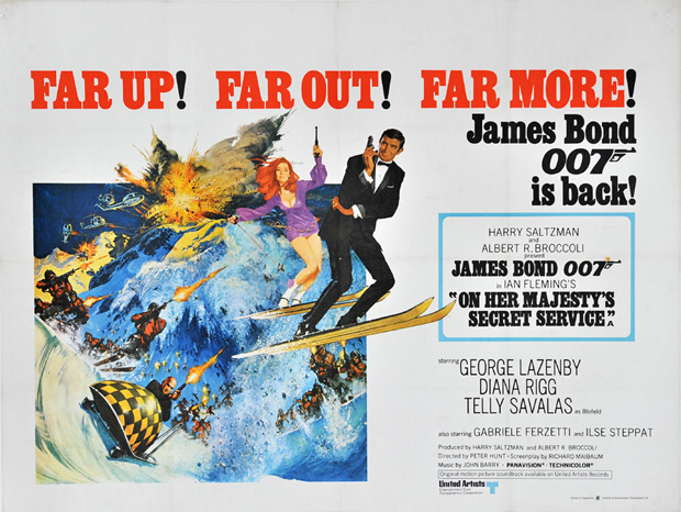 On Her Majesty's Secret Service (1969, dir. Peter Hunt)