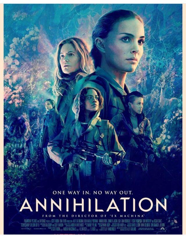 Annihilation (2018, dir. AlexGarland)