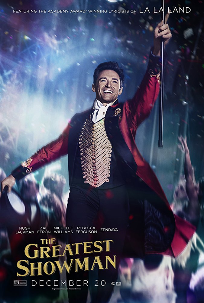 The Greatest Showman (2017, Dir. Michael Gracey)