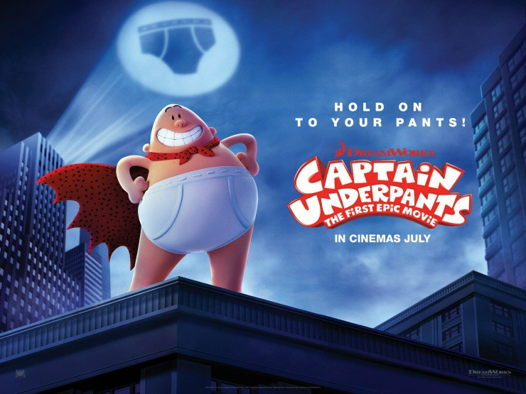 Captain Underpants: The First Epic Movie (2017, dir. David Soren)