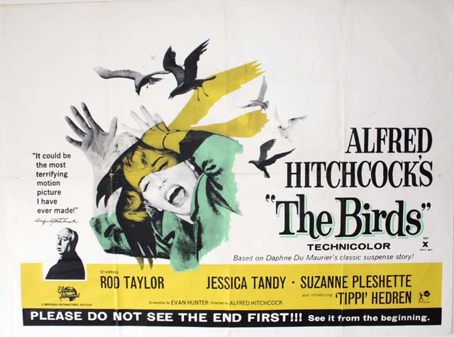 The Birds (1963, dir. Alfred Hitchcock)