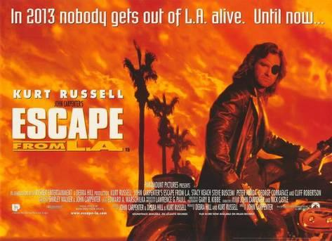 Escape From LA [AKA John Carpenter's Escape From LA] (1996, dir. John Carpenter)